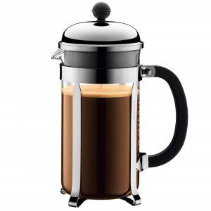 Classic Bodum Chambord French press coffee maker