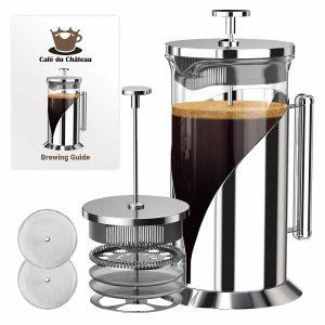 French press coffee maker bundle