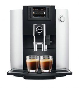 Jura E6 espresso machine