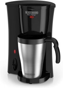 BLACK+DECKER Coffeemaker, Black/Stainless Steel