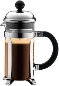 Bodum Chambord French Press Coffee and Tea Maker, 12 Ounce, Chrome and glass