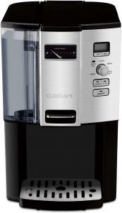 Cuisinart DCC-3000 Coffee-on-Demand 12-Cup Coffee maker, black/silver design