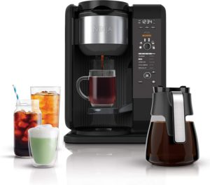 Ninja CP301 Hot & Cold System Drip Coffee Maker, Black With Glass Carafe