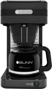 Bunn CSB2G Speed Brew Elite Coffee Maker Dark Gray With Glass Carafe