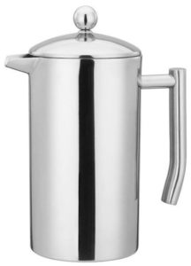 Cafe Brew Collection French Press With a Double Wall Insulation for Coffee and Tea